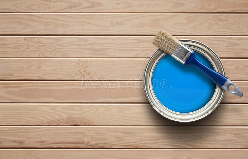 home-improvement-background-paint-can-clear-wooden-copy-space-87126033